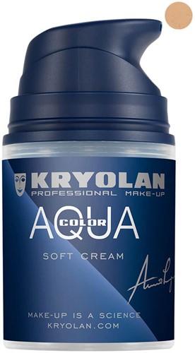 Softcream 50ml Kryolan Aquacolor 2W
