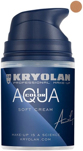 Softcream 50ml Kryolan Aquacolor 5W