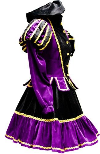 Dames Pietenpak Murcia Zwart/Paars -3