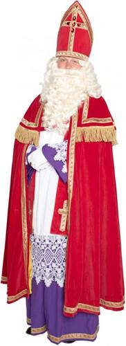 Sinterklaas Kostuum TV Polyesterfluweel