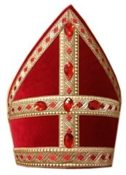 Brede Sinterklaas Kokermijter (decoratie)