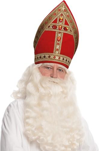 Sinterklaas Kokermijter Rood