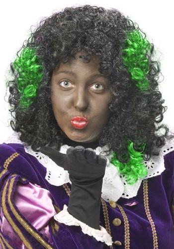 Zwarte Piet Haar Extension Groen