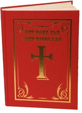 Sinterklaas Boek Luxe met Mijter (extra dik)