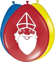 Sinterklaas Ballonnen 8st
