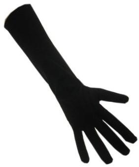 Handschoenen Zwarte Piet Lang Zwart