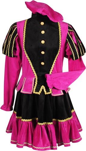 Pietenpak Murcia Zwart/Pink voor dames