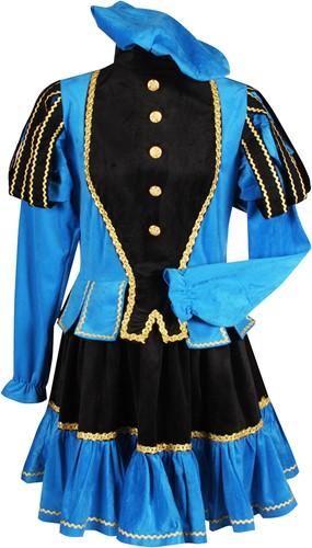 Pietenpak Murcia Zwart/Turquoise voor dames