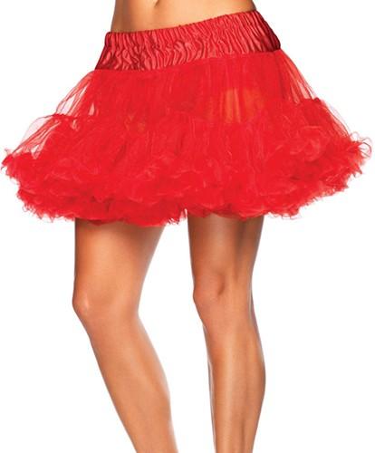 Luxe Rode Petticoat (2 lagen)