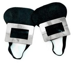 Zilveren schoenengesp