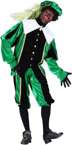 Pietenpak Carlos Fluweel Polyester Groen/Zwart