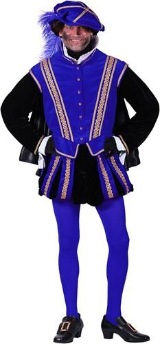 Pietenpak 'San Sebastian' voor heren Blauw/Zwart