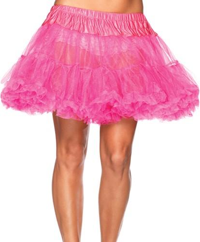 Petticoat Roze Luxe (2 laags)