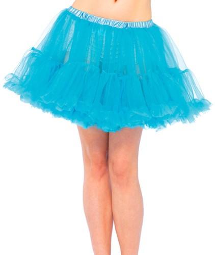 Luxe Turquoise Petticoat (2 lagen)