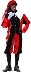 Pietenpak Carlos Fluweel Polyester Rood/Zwart
