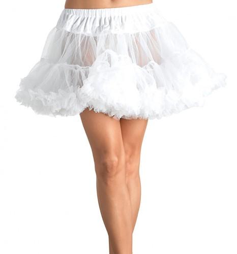 Luxe Witte Petticoat (2 lagen)