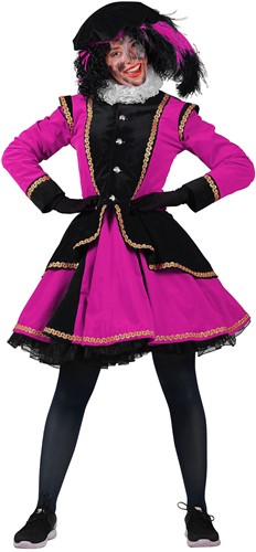Pietenpak Madrid Zwart/Pink voor dames