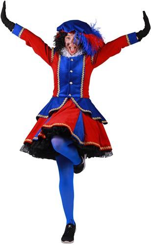 Pietenpak Madrid Rood/Blauw voor dames