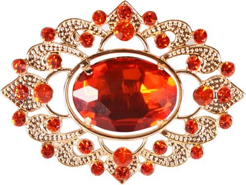 Luxe Baretspeld Goud-Rood