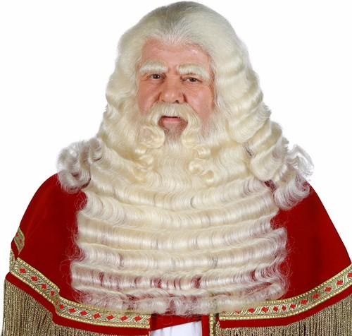 Baardstel Sinterklaas Professioneel (yak)