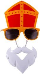 Sinterklaas Zonnebril met Baard
