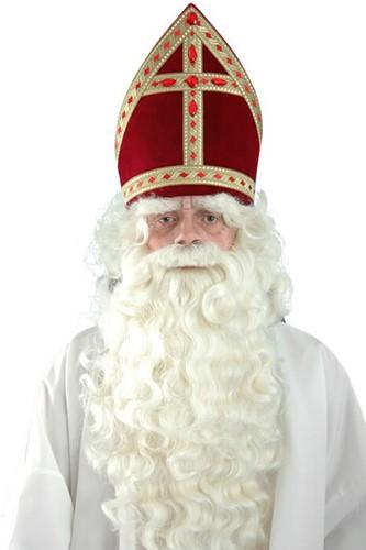 Kanekalon Sinterklaasbaard P