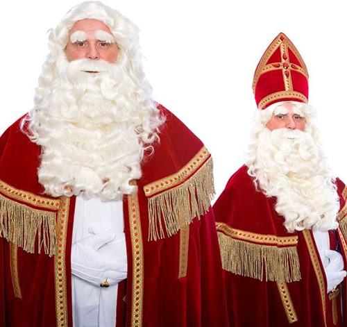 Baardstel Sinterklaas Luxe TV