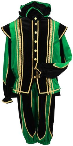 Toledo Pietenpak Zwart-Groen Luxe