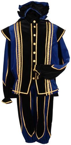 Toledo Pietenpak Zwart-Blauw Luxe