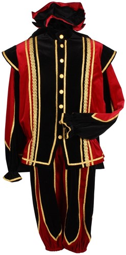 Toledo Pietenpak Zwart-Rood Luxe