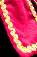 Dames Pietenpak Murcia Zwart/Pink (detail)