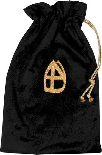 Strooizak Zwarte Piet Zwart Luxe