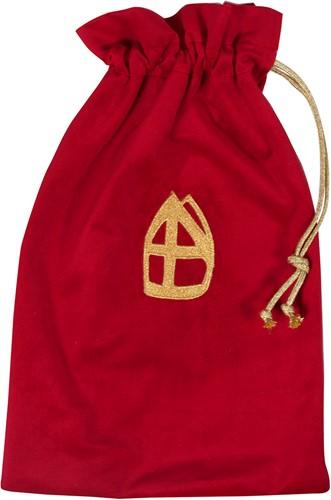 Strooizak Zwarte Piet Luxe Rood