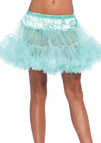 Luxe Mint Groene Petticoat (2 lagen)