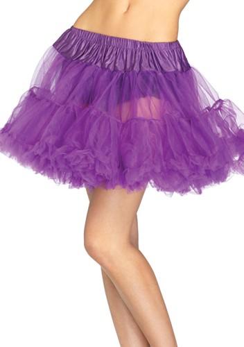 Luxe Paarse Petticoat (2 lagen)