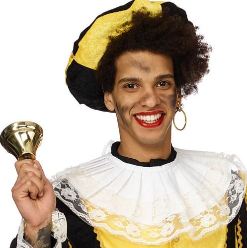 Kraag Zwarte Piet kant
