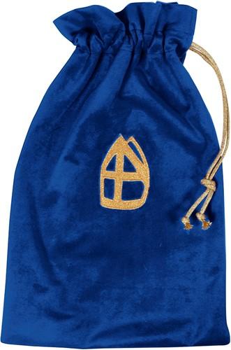 Strooizak Zwarte Piet Blauw Luxe