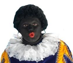 Kraag Piet met kant