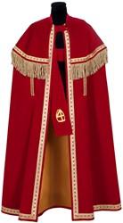 Kostuum Sinterklaas TV Stefan Fluweel Smal