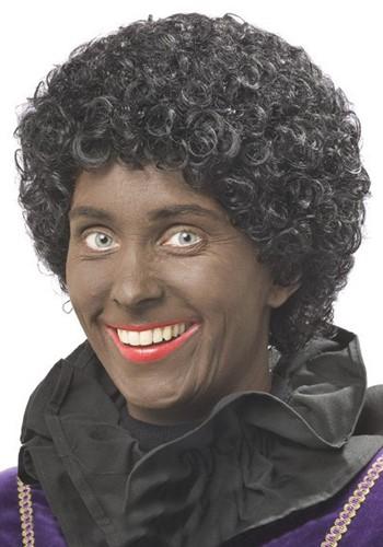 Pietenpruik Zwarte Piet Luxe XL