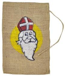 Sinterklaas Jute Zak (15 bij 25cm)