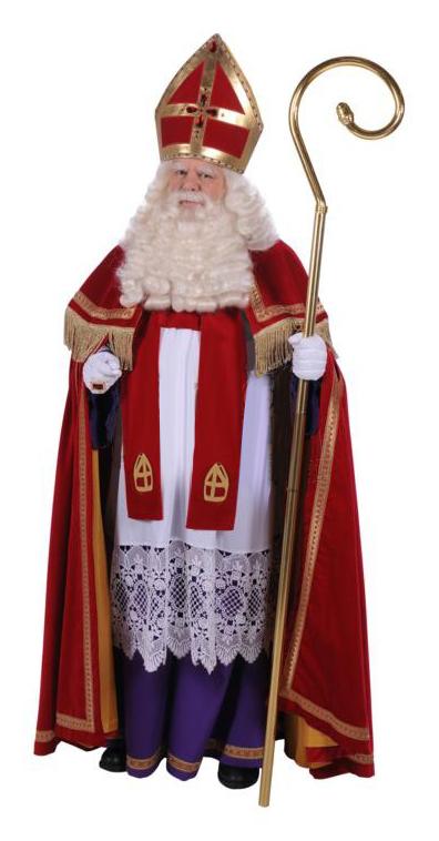 Kostuum Sinterklaas Fluweel TV Stefan