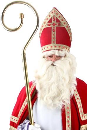 Baardstel Sinterklaas Synthetisch