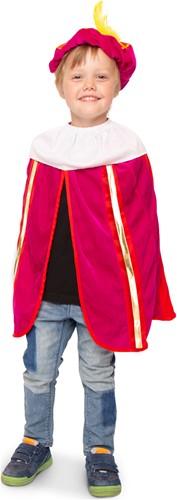Pink-Rood Kinder Pietenpakje met Cape
