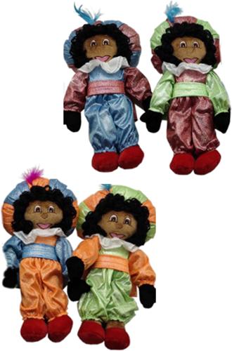 Decoratie Glitter Zwarte Piet (35cm)
