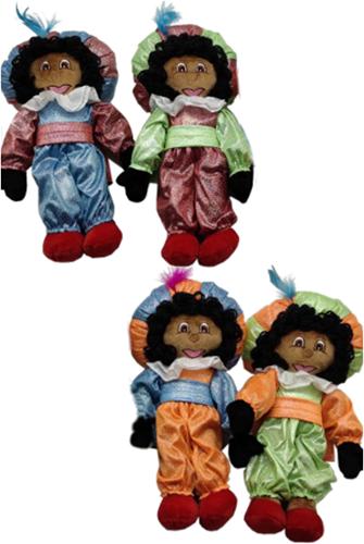 Decoratie  Glitter Zwarte Piet  (50cm)