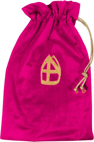 Strooizak Zwarte Piet Luxe Pink