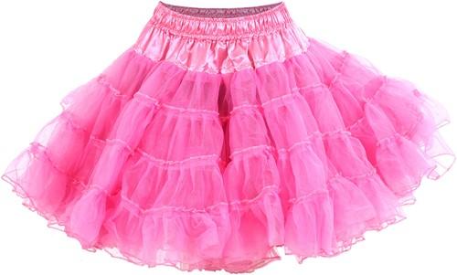 Roze Petticoat (2 laags)