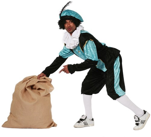 Heren Budget PietPansamt Turquoise