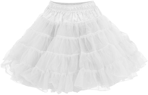 Witte Petticoat (2 laags)